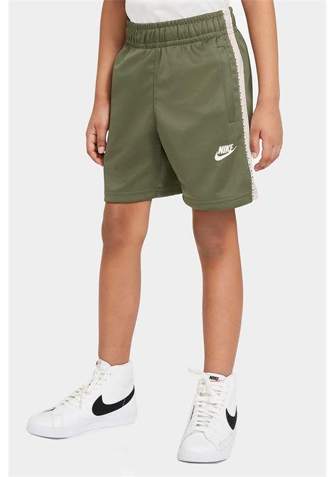 Military green baby shorts with front logo nike NIKE | Shorts | DJ4013222