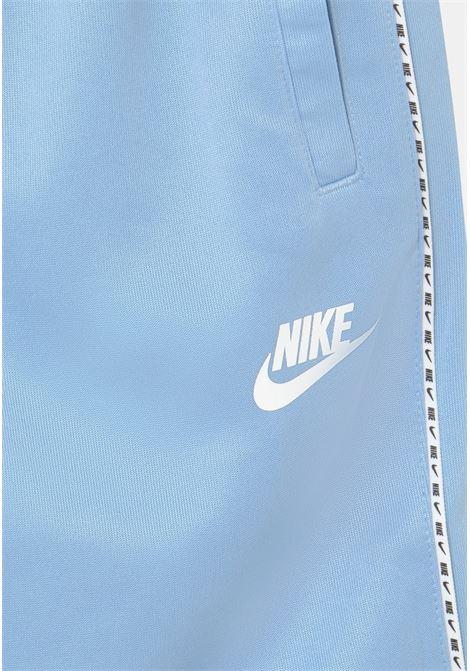 Shorts bambino azzurro nike con logo frontale NIKE | Shorts | DJ4013436