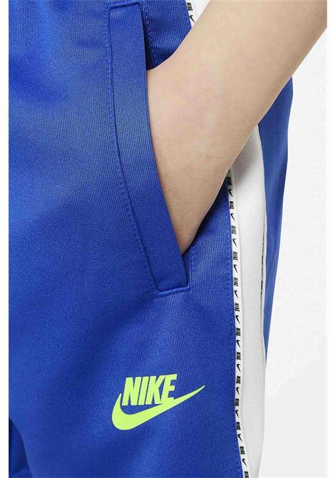 Blue baby shorts with front logo nike NIKE | Shorts | DJ4013480