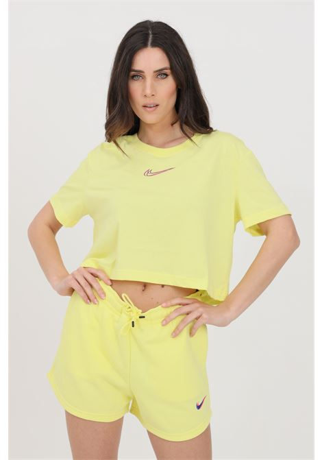 T-shirt donna giallo nike a manica corta NIKE | T-shirt | DJ4125712