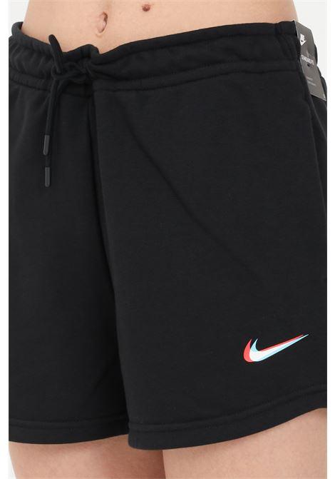 Black shorts with contrasting logo. Nike NIKE | Shorts | DJ4129010