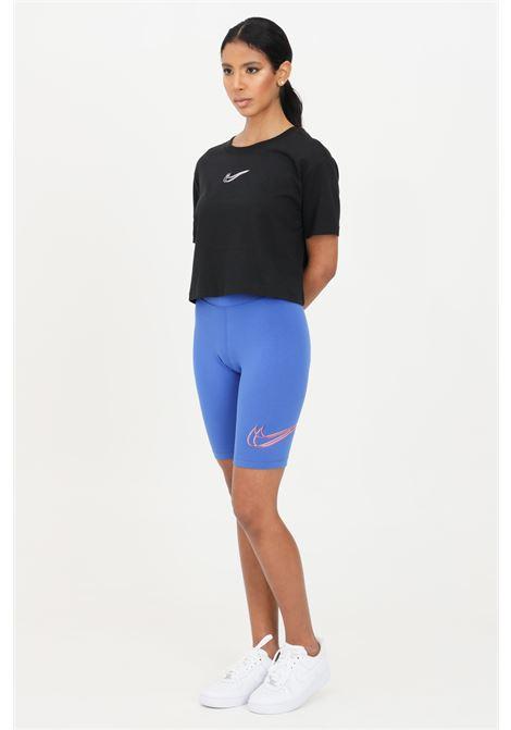 Blue shorts, cyclist model. Nike  NIKE | Shorts | DJ4132480