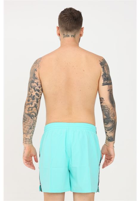 Shorts mare uomo turchese nike con banda laterale logata NIKE   Beachwear   NESSA477-318318