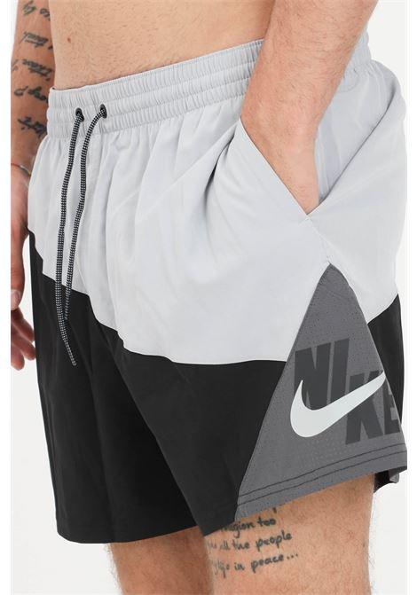 Shorts mare logo jackknife 5 uomo nero nike NIKE   Beachwear   NESSA484-07979