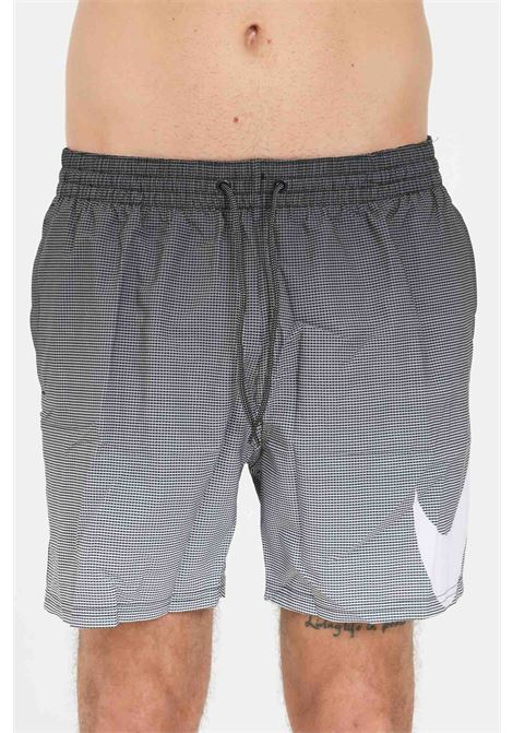 Black men's color fade vital 9 sea shorts nike NIKE | Beachwear | NESSA494-0011
