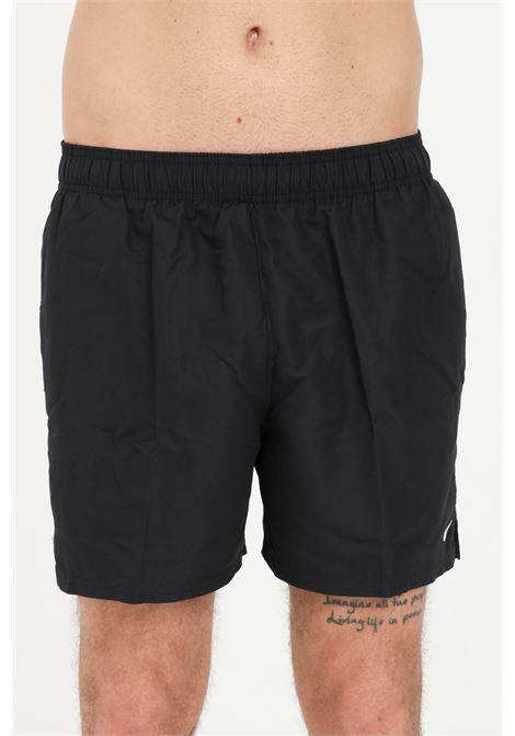 Black men's essentials lap 5 beach shorts nike NIKE   Beachwear   NESSA560-0011