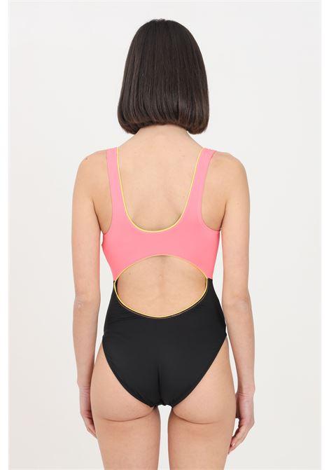 Costume intero donna bicolore nike con zip NIKE | Beachwear | NESSB309-0011