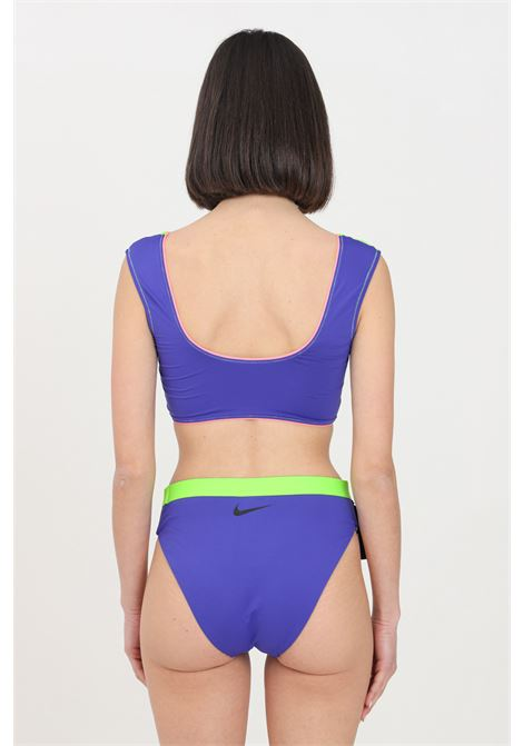 Slip mare donna fluo nike modello slim NIKE | Beachwear | NESSB312-429429
