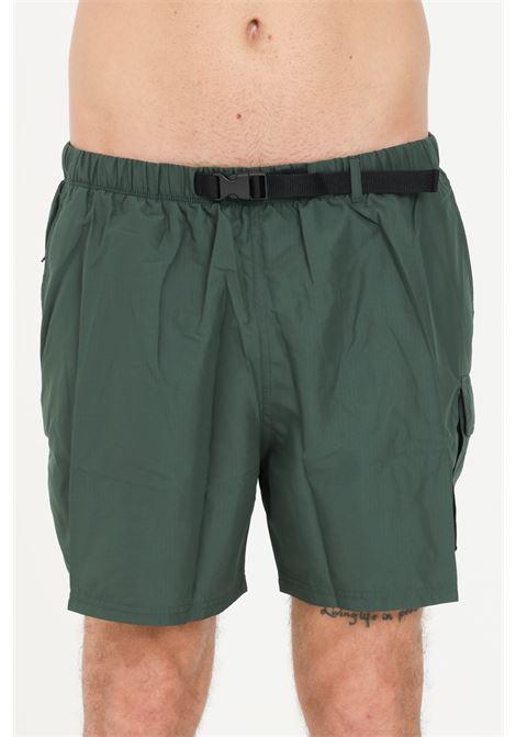 Green men's sea shorts with belt at the waist nike NIKE | Beachwear | NESSB522-303303