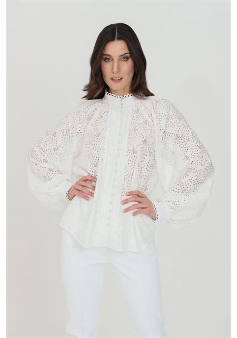 White shirt with buttons. Odi et amo ODI ET AMO | Shirt | 089T1BIANCO