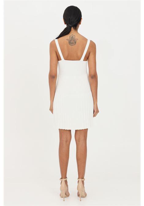 Abito donna corto bianco patrizia pepe con scollatura profonda PATRIZIA PEPE | Abiti | 2A2201-A6U7W146