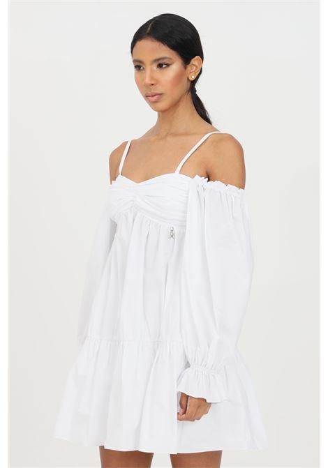 White short dress with long sleeves patrizia pepe PATRIZIA PEPE | Dress | 2A2203-A9B9W103