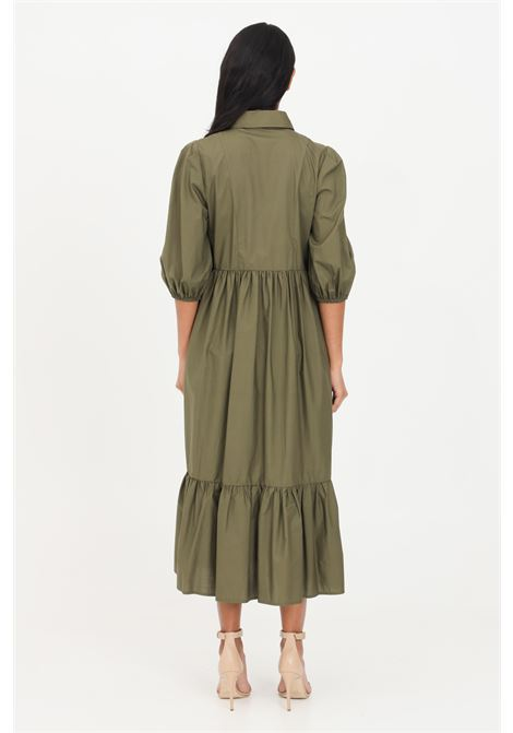 Green midi dress patrizia pepe PATRIZIA PEPE | Dress | 2A2218-A9B9G510