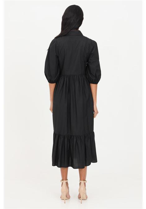 Black midi dress patrizia pepe PATRIZIA PEPE | Dress | 2A2218-A9B9K103