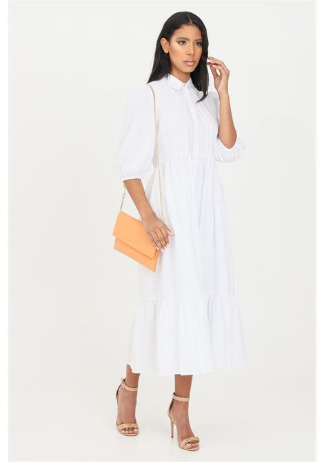 White midi dress patrizia pepe PATRIZIA PEPE | Dress | 2A2218-A9B9W103