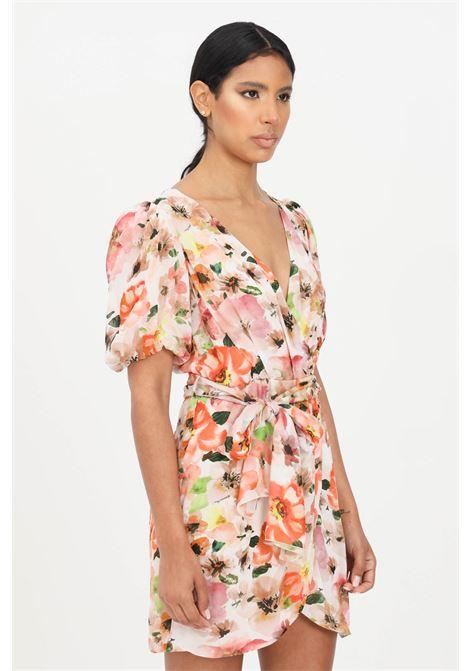 Floral short dress with allover print patrizia pepe  PATRIZIA PEPE | Dress | 2A2222-A9C7XU77