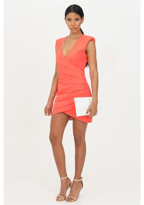 Vestito donna corto corallo patrizia pepe a tubino PATRIZIA PEPE | Abiti | 2A2225-A9C5R720