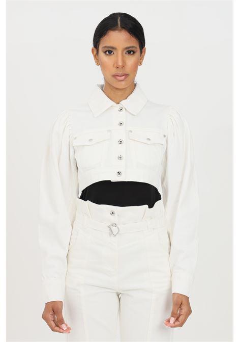 White denim jacket patrizia pepe PATRIZIA PEPE | Jacket | 2J2329-A8X8W146