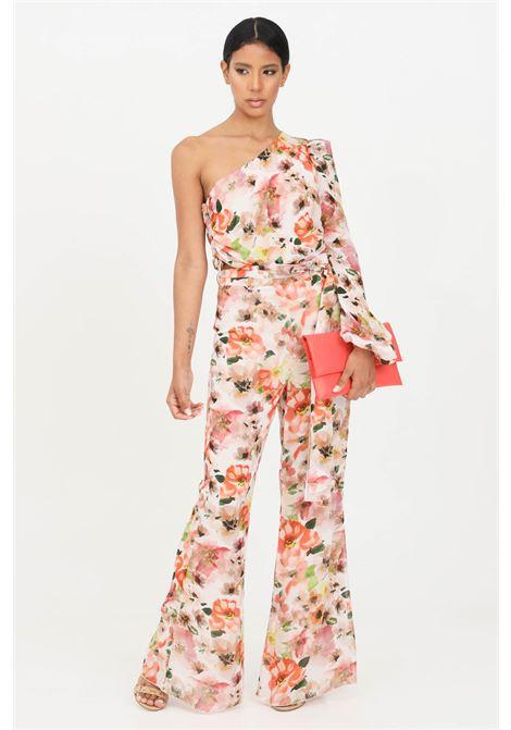 Floral women's trousers patrizia pepe PATRIZIA PEPE | Pants | 2P1322-A9C7XU77