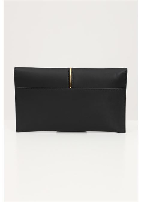 Borsa donna nero patrizia pepe pochette con logo lettering PATRIZIA PEPE | Borse | 2V5460-A8W9K103