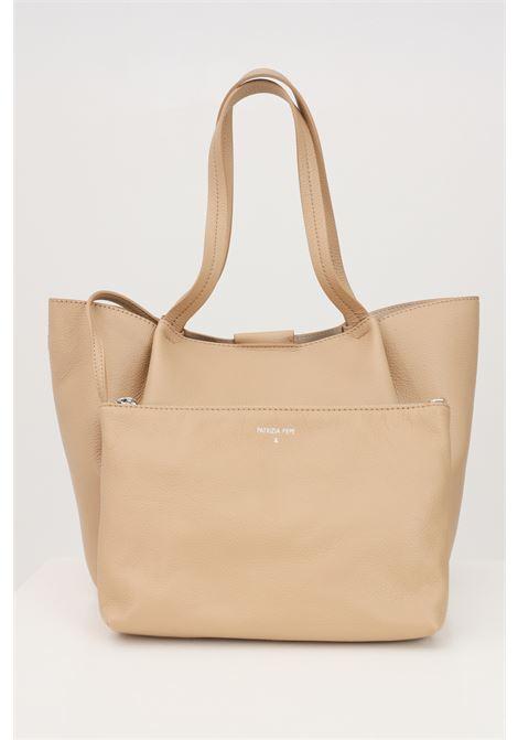 Shopper beige patrizia pepe with removable purse.  PATRIZIA PEPE | Bag | 2V8895-A4U8NB685