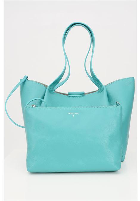 Shopper green patrizia pepe with removable purse PATRIZIA PEPE | Bag | 2V8895-A4U8NG512