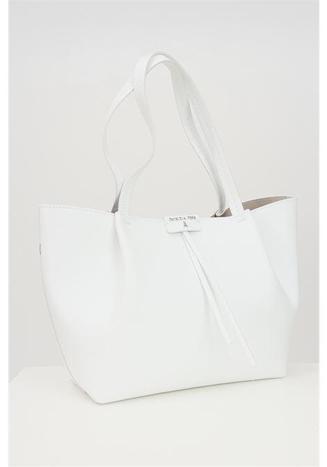 Shopper white woman patrizia pepe with removable purse. PATRIZIA PEPE | Bag | 2V8895-A4U8NW146