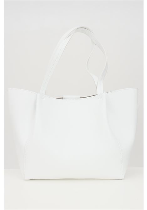 Shopper donna bianca patrizia pepe con borsello estraibile PATRIZIA PEPE | Borse | 2V8895-A4U8NW146