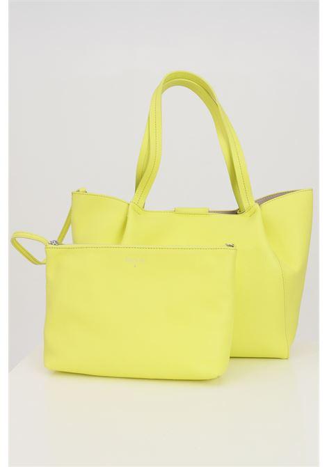 Shopper yellow patrizia pepe with removable purse. PATRIZIA PEPE | Bag | 2V8895-A4U8NY397
