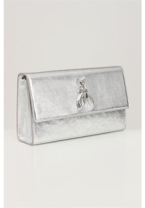 Borsa donna silver patrizia pepe con tracolla in metallo PATRIZIA PEPE | Borse | 2V9798-A3LTS298