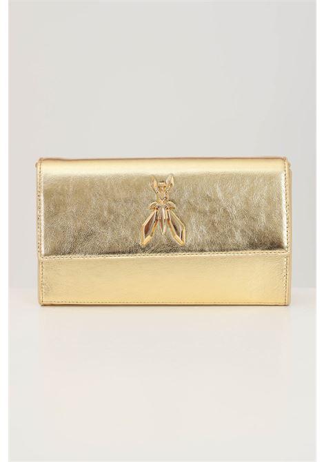 Borsa donna oro patrizia pepe con tracolla in metallo PATRIZIA PEPE | Borse | 2V9798-A3LTY360