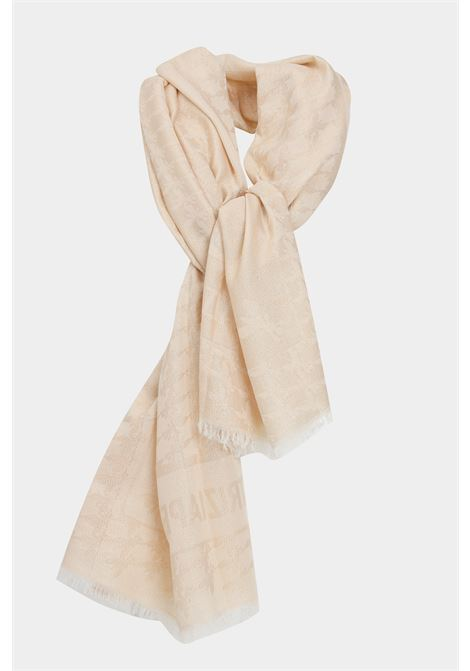 Beige gold scarf. Patrizia pepe PATRIZIA PEPE | Scarf | 2VA183-A2RXF1PH