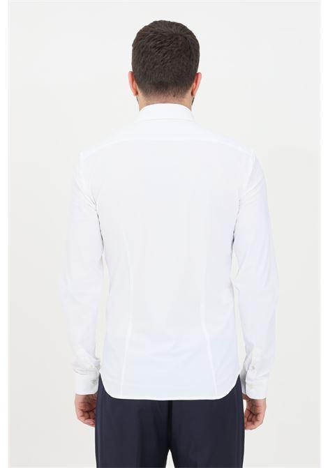 White men's shirt elegant model patrizia pepe PATRIZIA PEPE | Shirt | 5C055B-A8T5W103
