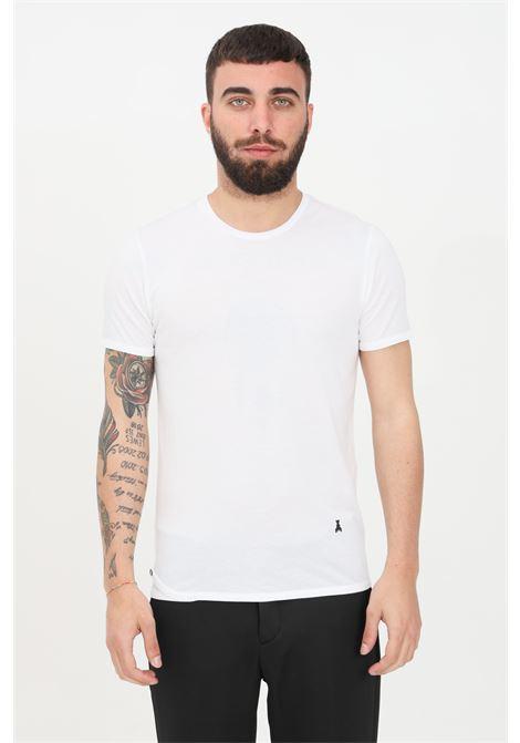 T-shirt man white patrizia pepper short sleeves  PATRIZIA PEPE | T-shirt | 5M1223-AT23W103