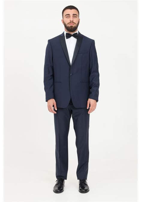 Blue men's jacket patrizia pepe PATRIZIA PEPE | Blazer | 5S0661-A1WKREVERC166