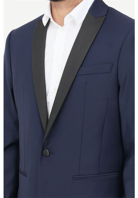 Blue men's jacket patrizia pepe PATRIZIA PEPE | Blazer | 5S0661-A1WKTRAMAC166