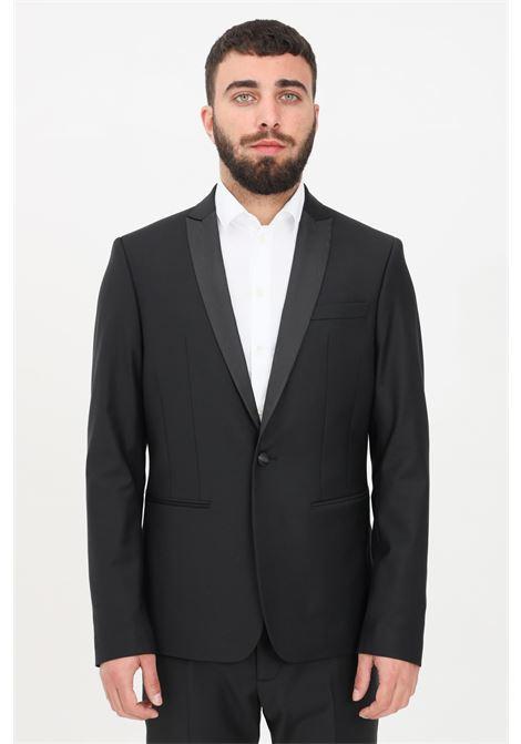 Black men's jacket patrizia pepe  PATRIZIA PEPE | Blazer | 5S0661-A1WKTRAMAK102