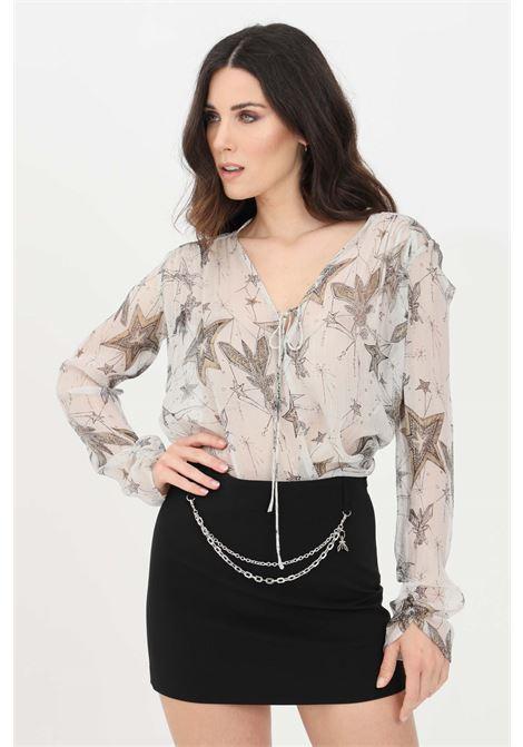 Grey blouse. Patrizia pepe PATRIZIA PEPE | Blouse | 8C0448-A8W1XU76