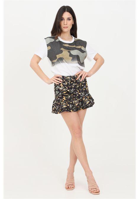Gonna donna camouflage patrizia pepe corta PATRIZIA PEPE | Gonne | 8G0225-AT84XF80