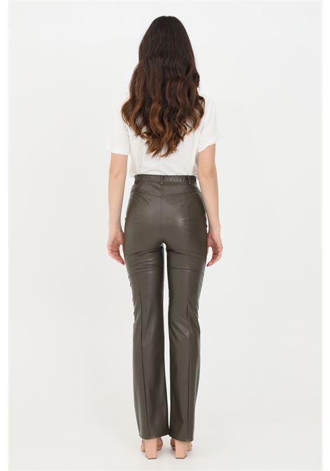 Green casual trousers. Patrizia pepe PATRIZIA PEPE | Pants | 8L0393-A1DZG507