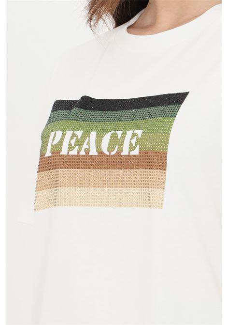T-shirt donna bianco patrizia pepe a manica corta PATRIZIA PEPE   T-shirt   8M1213-A8T0W146