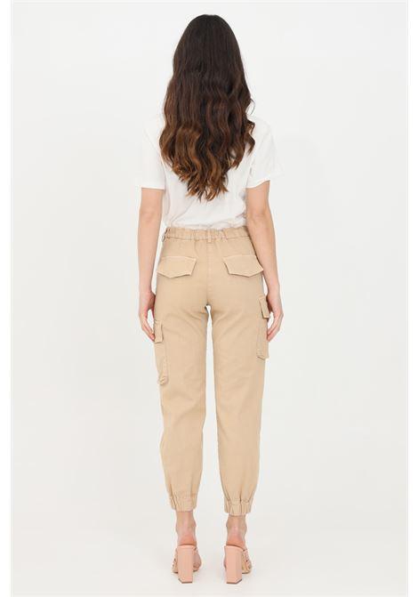 Beige casual trousers. Patrizia pepe PATRIZIA PEPE | Pants | 8P0317-A8S1B699