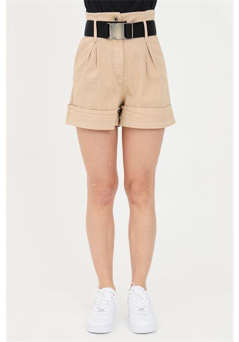 Beige casual shorts. Patrizia pepe PATRIZIA PEPE | Shorts | 8P0322-A8S1B699