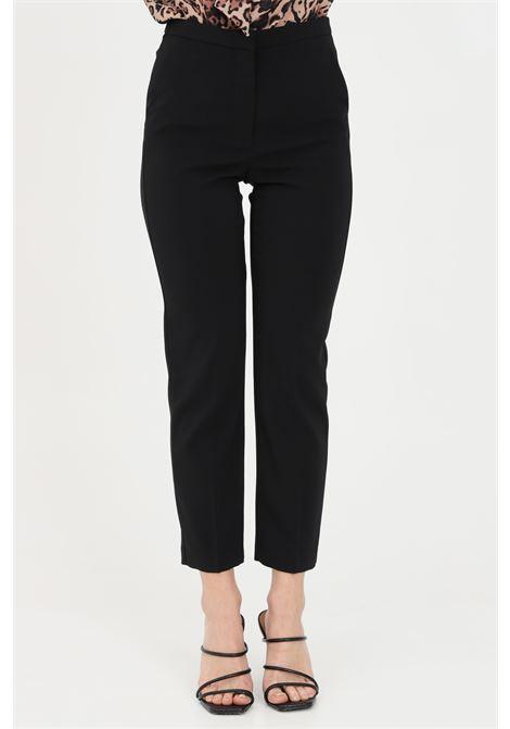 Black essential trousers, cigarette model. Patrizia pepe PATRIZIA PEPE | Pants | 8P0325-A6F5K103