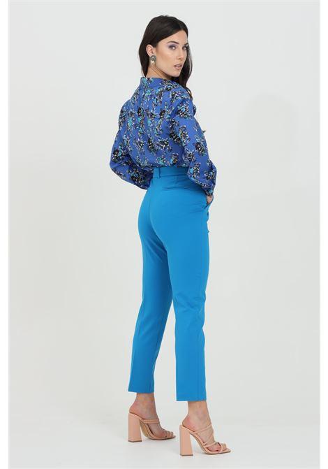 Blue pants, cigarette model. Pinko PINKO | Pants | 1G15LF-5872G32