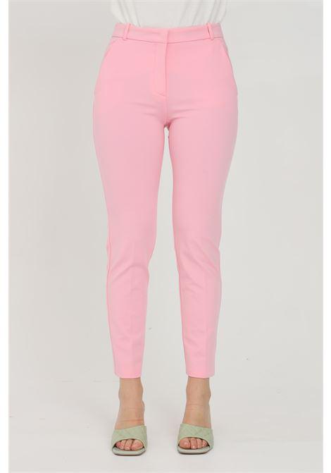 Pantalone donna rosa pinko elegante modello cigarette PINKO | Pantaloni | 1G15LF-5872P95