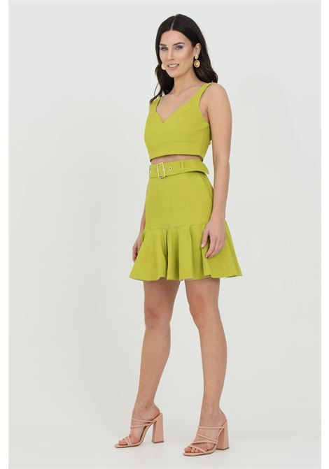 Lime top with side zip. Pinko PINKO | Top | 1G15UZ-7435T56