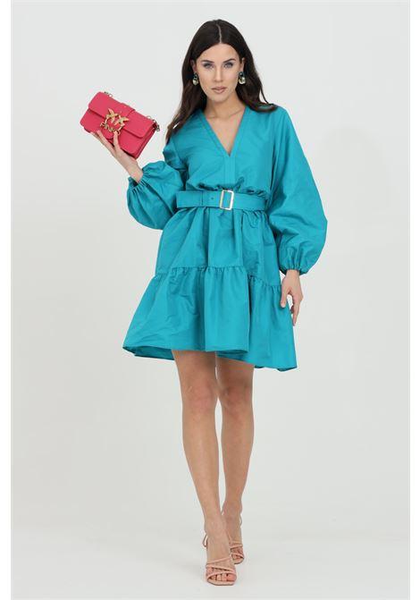 Short dress with waistband and flared bottom PINKO | Dress | 1G160M-8399U98