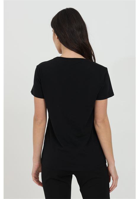 Black t-shirt with contrasting logo on the front. Pinko PINKO | T-shirt | 1G1619-Y651Z99