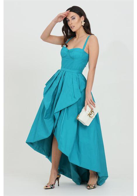 Short dress with side zip. Flounces at the bottom PINKO | Dress | 1G1645-8399U98